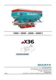 X36 - Sulky Burel