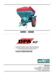 DPA XLT-FR-GB-DE-02.qxd - Sulky Burel