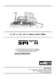 SPI Regul-line F-GB-D_SP_A-03 - Sulky Burel