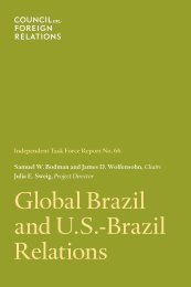 Global Brazil and U.S.-Brazil Relations - CFR.org - Council on ...