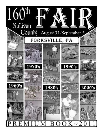 Fair Book.indd - the Sullivan County Fair