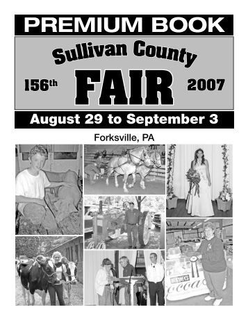 Weld County Fair Book & Entry Forms