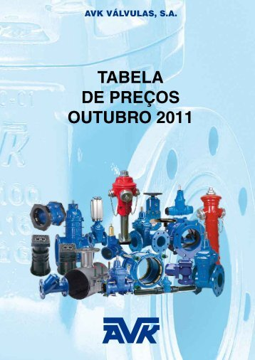 AVK | TABELA OUT 2011