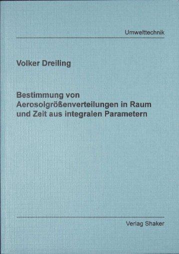 Volker Dreiling Bestimmung von Äerosoigrößenverteiiungen in ...