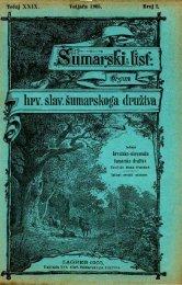 ÅUMARSKI LIST 2/1905