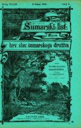 ÅUMARSKI LIST 5/1908