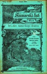 ÅUMARSKI LIST 9/1910
