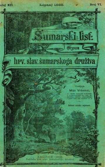 ÅUMARSKI LIST 6/1888