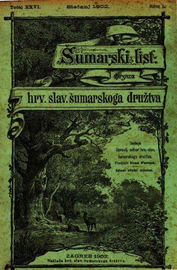 ÅUMARSKI LIST 1/1902
