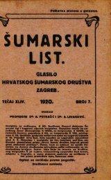 ÅUMARSKI LIST 7/1920