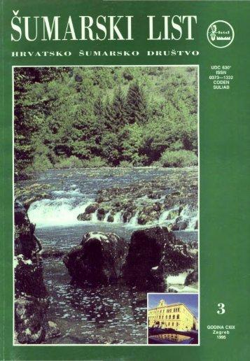 ÅUMARSKI LIST 3/1995 - HÅD