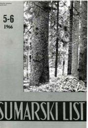 ÅUMARSKI LIST 5-6/1966