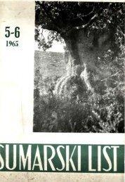 ÅUMARSKI LIST 5-6/1965