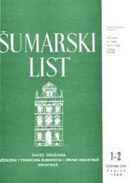 ÅUMARSKI LIST 1-2/1988