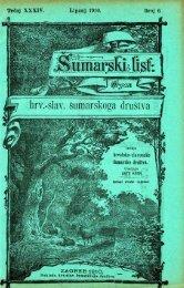 ÅUMARSKI LIST 6/1910