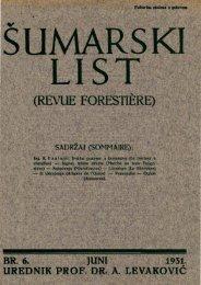 ÅUMARSKI LIST 6/1931
