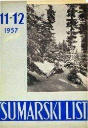 ÅUMARSKI LIST 11-12/1957