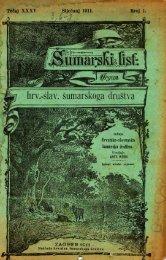ÅUMARSKI LIST 1/1911