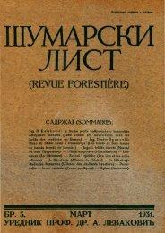 ÅUMARSKI LIST 3/1931