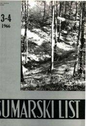 ÅUMARSKI LIST 3-4/1966