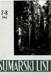 ÅUMARSKI LIST 7-8/1964