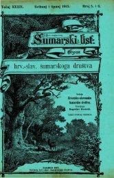 ÅUMARSKI LIST 5-6/1915