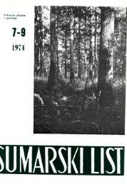 ÅUMARSKI LIST 7-9/1974