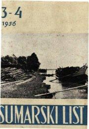 ÅUMARSKI LIST 3-4/1956