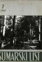 ÅUMARSKI LIST 7/1962