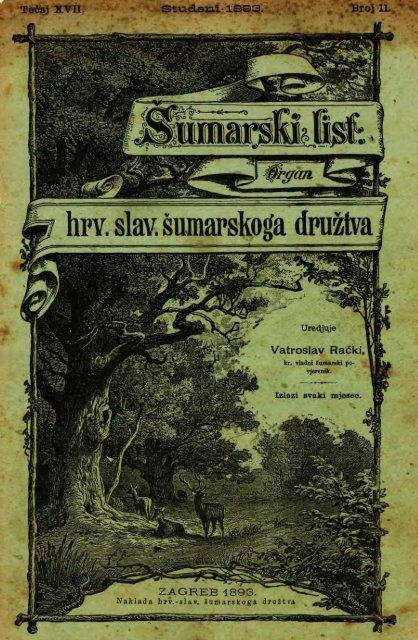 ÅUMARSKI LIST 11/1893