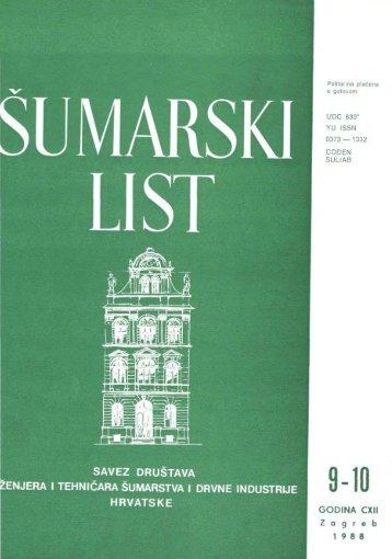 ÅUMARSKI LIST 9-10/1988