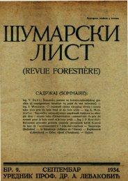 ÅUMARSKI LIST 9/1934