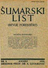 ÅUMARSKI LIST 8/1929
