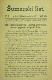 ÅUMARSKI LIST 5/1897
