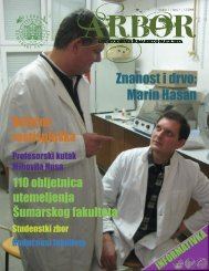 Znanost i drvo: Marin Hasan