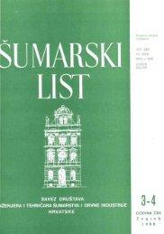 ÅUMARSKI LIST 3-4/1988