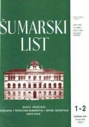 ÅUMARSKI LIST 1-2/1991