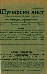 ÅUMARSKI LIST 2/1924