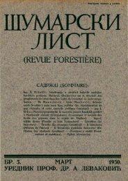 ÅUMARSKI LIST 3/1930