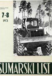 ÅUMARSKI LIST 7-8/1971