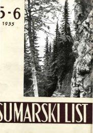 ÅUMARSKI LIST 5-6/1955