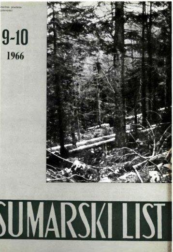 ÅUMARSKI LIST 9-10/1966