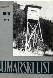 ÅUMARSKI LIST 10-11/1974