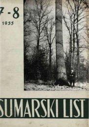 ÅUMARSKI LIST 7-8/1955
