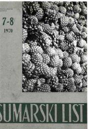 ÅUMARSKI LIST 7-8/1970