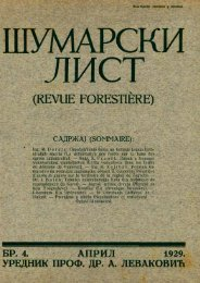 ÅUMARSKI LIST 4/1929