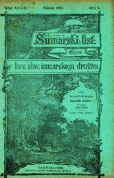 ÅUMARSKI LIST 7/1909