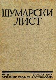 ÅUMARSKI LIST 1/1928