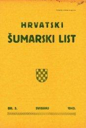 ÅUMARSKI LIST 5/1942 - HÅD