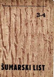 ÅUMARSKI LIST 3-4/1951